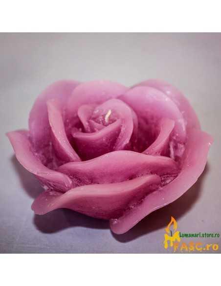 Lumanare Decorativa Trandafir din Ametist Lumanari Decorative FASC