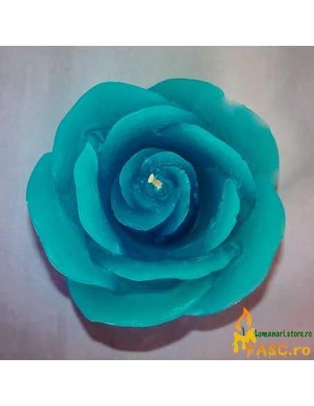 Lumanare Decorativa Trandafir din Safir Lumanari Decorative FASC