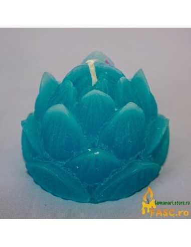 Lumanare Decorativa Lotus din Safir Lumanari Decorative FASC