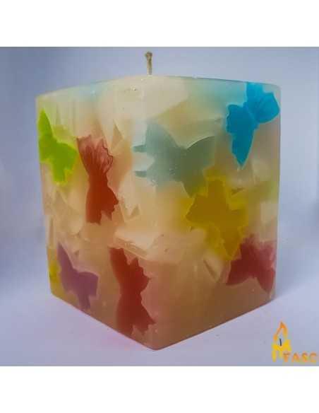 Lumanare Cub Mediu din Fluturi Lumanari Decorative FASC