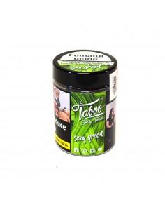 Tutun narghilea Sexy Green menta, clorofila Taboo 50g Tutun Narghilea