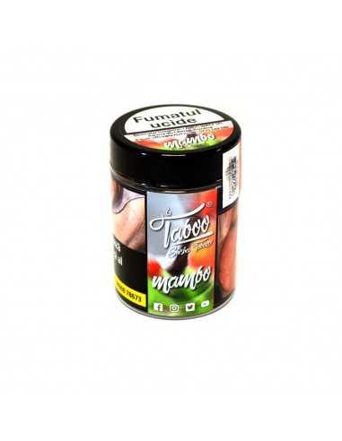 Tutun narghilea Mambo capsuna, kiwi, piersica, nuca de cocos Taboo 50g Tutun Narghilea