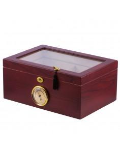EGO Humidor Case Glass Cherry Humidor