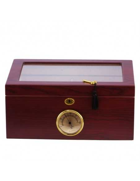 EGO Humidor Case Glass Cherry Humidor