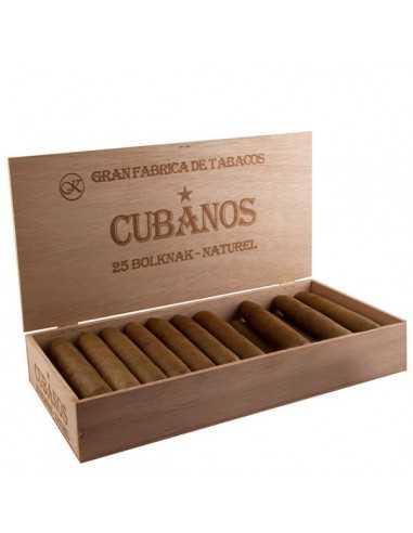 Cubanos Bolknak Natural 25 Tigari de Foi