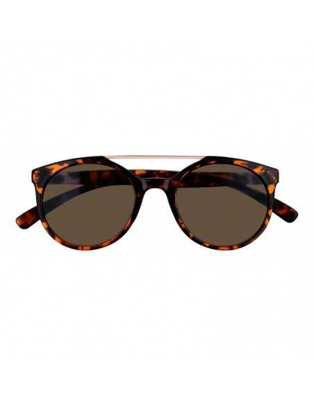 Ochelari de Soare, Zippo Smoke Circular Sunglasses with Brow Bar