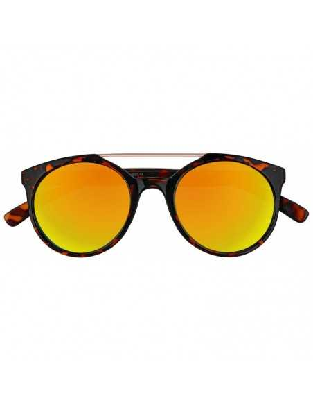 Ochelari de Soare, Zippo Orange Multicoated Circular Sunglasses
