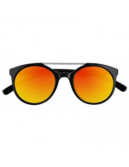 Ochelari de Soare, Zippo Orange Mirror Circular Sunglasses with
