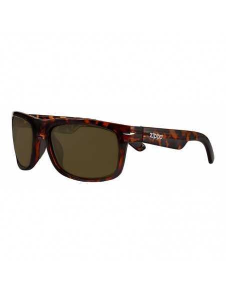 Ochelari de Soare, Zippo Brown Polarized Square Sunglasses