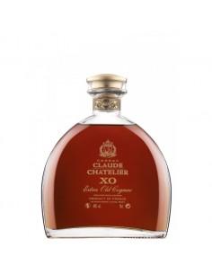 Cognac, CLAUDE CHATELIER COGNAC XO + Gift Box 40% 0.7L