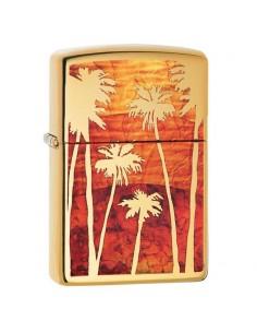 Zippo Fusion Palm Tree Sunset Brichete Zippo Zippo Manufacturing Company