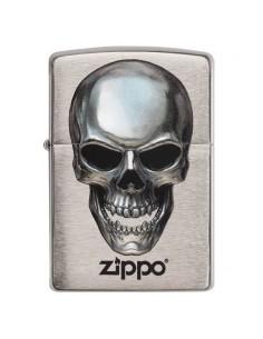 Zippo Metal Skull Brichete Zippo Zippo Manufacturing Company
