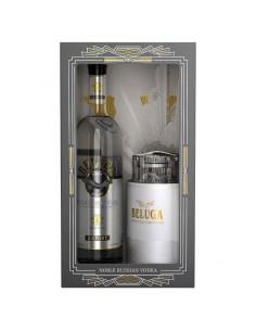 Vodca, Beluga Noble + Caviar Set 40% 0.7l