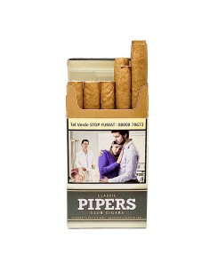 Pipers Classic Club Cigars 10 Cigarillos