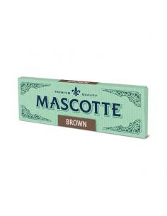 Hartie Mascotte Brown Foite de Rulat Mascotte