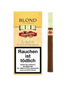 Tigari de foi Handelsgold Tip Blond (5) Cigarillos