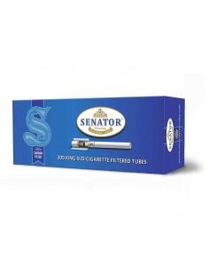 Tuburi tigari SENATOR Blue Multifilter Carbon 200 Tuburi Tigarete