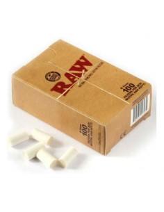 Filtre rulat RAW Cotton - Regular (100) Filtre Tigarete