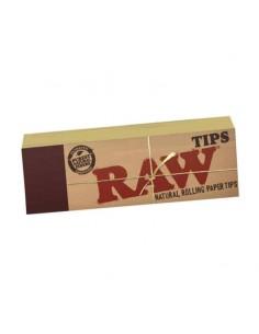 Filtre rulat RAW din carton - Filter Tips (50) Filtre Tigarete