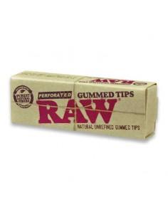 Filtre rulat RAW din carton - Filter Tips Perforated Gummed (33) Filtre Tigarete