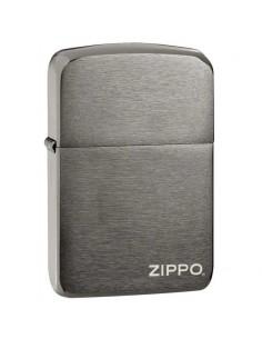 Zippo 1941 Replica Black Ice Logo Brichete Zippo Zippo Manufacturing Company