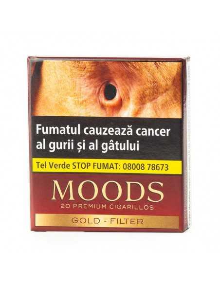 Moods Gold Filter (20) Cigarillos Moods