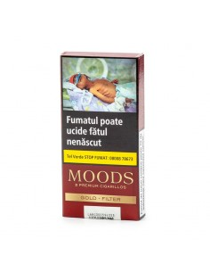 Moods Gold Filter (pac. 5) Cigarillos Moods