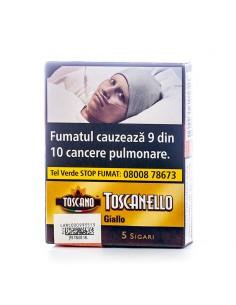 Toscanello GIALLO (vaniglia) (5) Tigari de Foi Toscano