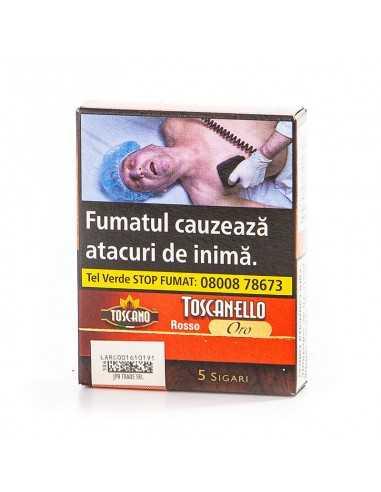 Toscanello Rosso Oro (5) Tigari de Foi Toscano